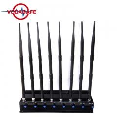 Adjustable 3g gsm cdma dcs phs cell phone jammer , phone gsm jammer blocker