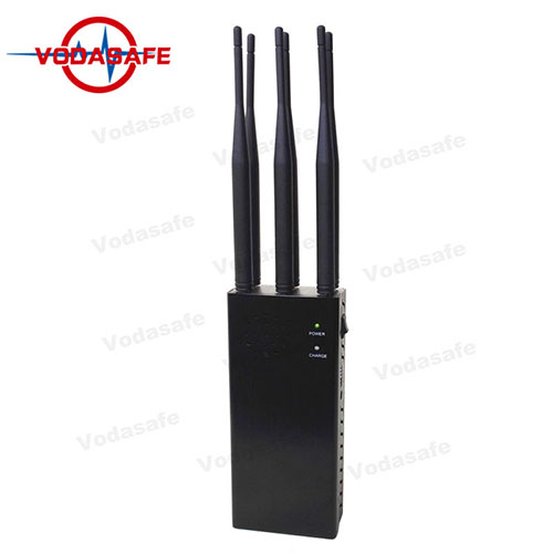 6 Antennas Handheld Jammer Jamming for GPSL1 L2 L3 L4 L5