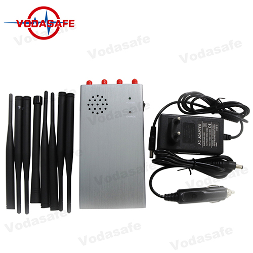 Cell phone jammer home - Portable 8 Bands Mobile Phone Jammer with Rechargable Battery and Cooling System